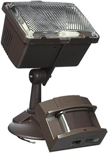 Heath Zenith HZ-5525-BZ Heathco Security Light, 120 Vac, Halogen, 250 W