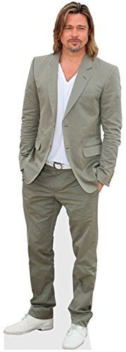 Brad Pitt Life Size Cutout by Celebrity Cutouts by Celebrity Cutouts