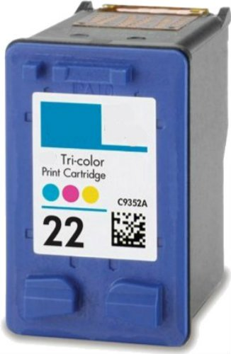 HouseOfToners Remanufactured Ink Cartridge Replacement for HP 22 C9352AN (1 Color)