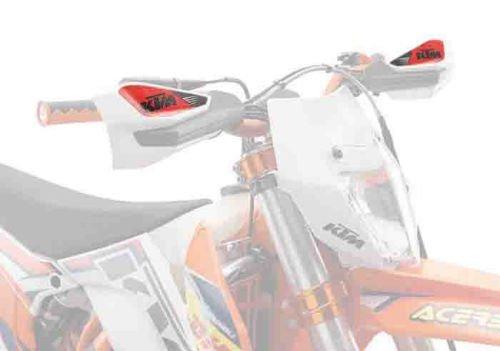NEW KTM HANDGUARD STICKER SET 125 150 200 250 SX XC SXS SXF EXC XCF 77702990000