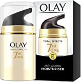 Olay Total Effects 7 in 1 Anti-Ageing Day Moisturizer SPF 15 for Unisex, 1.7 Ounce