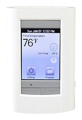 Charming Warm Your Floor 81014974 Universal Sun Touch Sun Stat View Touch Screen  Programmable Floor Heat Thermostat