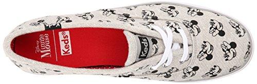 Keds Kvinna Triple Minnie Screentryck Jersey Mode Sneaker Grå