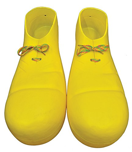 Ellie Shoes Clown Shoe Plastic Yellow