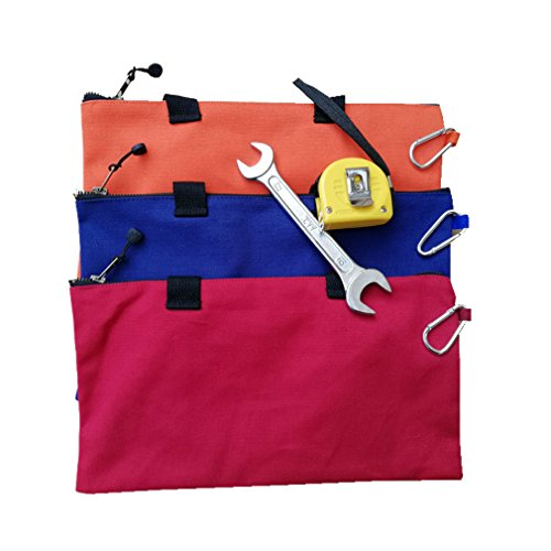 Small Canvas Zipper Tool Bag(Set of 3) 9.5