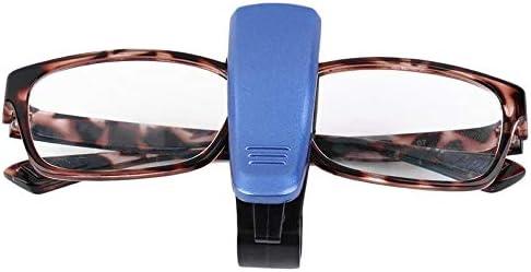 Porta Occhiali da Sole per Auto con Clip per Tessere e Biglietti Portatile ukYukiko