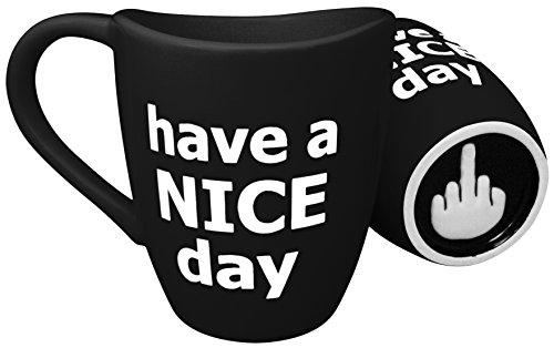 Decodyne Have a Nice Day Coffee Mug, Funny Cup
