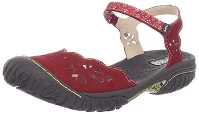 Jambu Women's Ocean Sandal,Red,11 M US