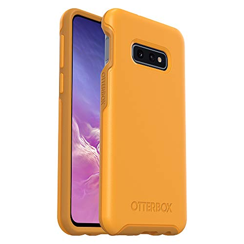 OtterBox SYMMETRY SERIES Case for Galaxy S10e - Retail Packaging - ASPEN GLEAM (CITRUS/SUNFLOWER)
