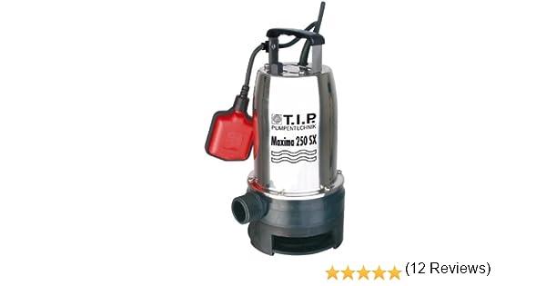 T.I.P. 30264 Bomba de inmersión para aguas residuales Maxima 250 SX: Amazon.es: Bricolaje y herramientas