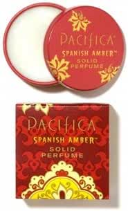 Pacifica Beauty Solid Perfume, Spanish Amber, 0.33 Ounce