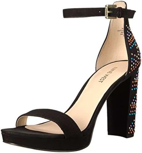 Nine West Women's Dempsey Suede Dress Sandal