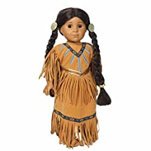 "Native American Indian Dress Traditional Design Fits 18"" American Girl® Doll"