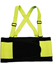 Cordova Back Support Belt with Attached Suspenders