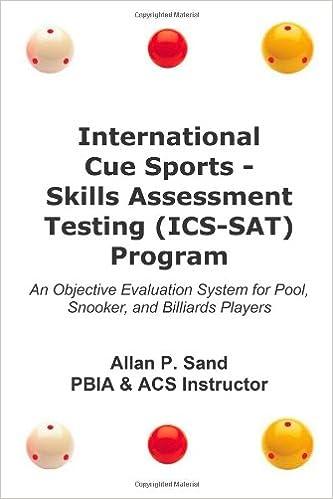 International Cue Sports - Skills Assessment Testing ICS-SAT ...