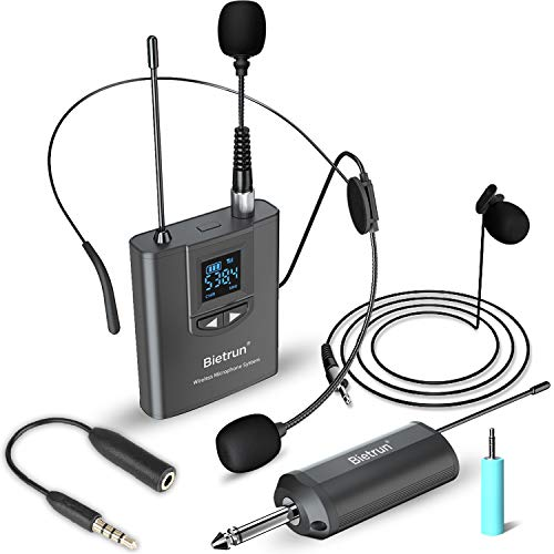 Wireless Lavalier Lapel Microphone