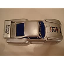 Artin (Hong Kong) Silver Porsche 935 (Martini) Plastic Slot Car 100 mm
