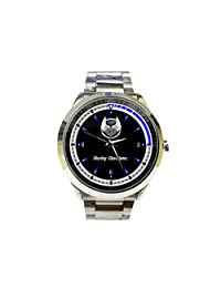 CTSP084 Hot Rare Harley Davidson 105th Anniversary Gift Blue Sport Metal Watch