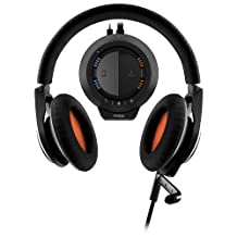Plantronics 200040-03 RIG Stereo Gaming Headset with Mixer for PC/Mac-Retail Packaging, Black