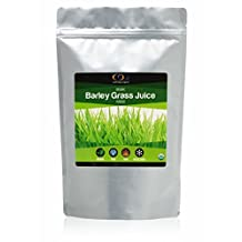 Raw Organic Freeze Dried Barley Grass Juice Powder, 0.5 LB, highly concentrated, nutrient dense and prized for its anti-aging and energizing elements.