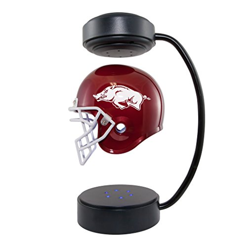 Arkansas Razorbacks  NCAA Hover Helmet - Collectible Levitating Football Helmet with Electromagnetic Stand - Arkansas Razorbacks Mini Helmet