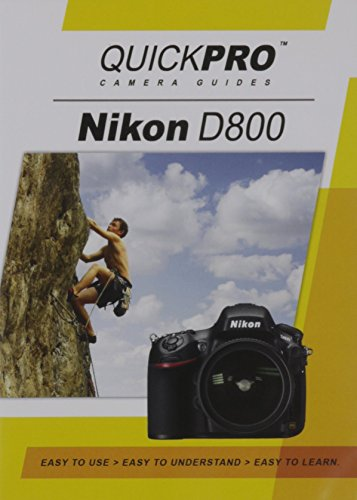 Nikon D800 Instructional DVD by QuickPro Camera ()