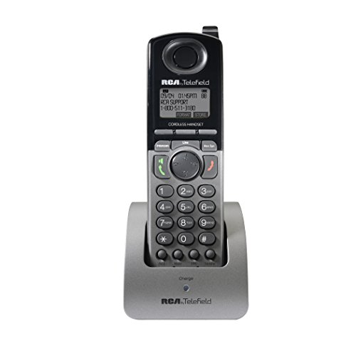 "RCA U1200 DECT 6.0 4-Line Cordless Handset Accessory for RCA Unison U1000 Base Station (Handset Does Not Work Independently)"" from RCA"