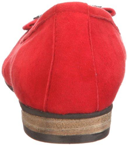 Rot 0590452 Rojo para ante de 021 0590452 mujer Andrea Rot Conti Bailarinas EwqHwv4