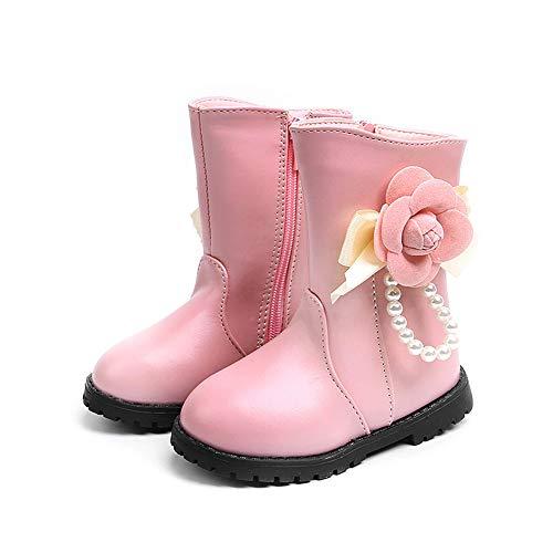 2d7229b76afc8 Regoss (レジス) 子供靴 スノーブーツ 花キッズ ジュニア ブーツ ミドルブーツ女の子 男の子