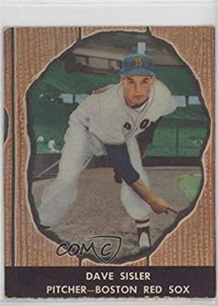 Amazoncom Dave Sisler Baseball Card 1958 Hires Root Beer