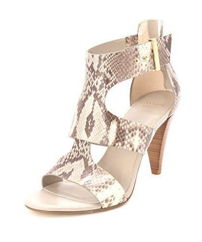 Casual Snakeskin Open Cole Grey Keziahsam Toe Haan Ankle Strap Sandals Womens xqO4PAwF