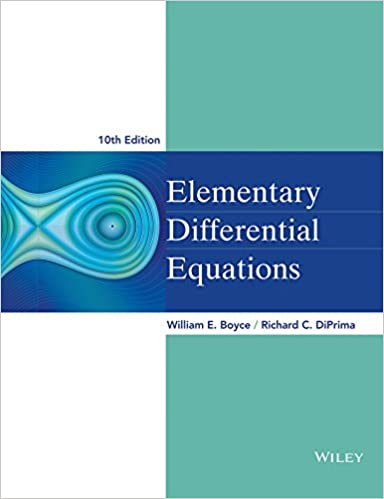 Elementary Differential Equations Boyce Pdf