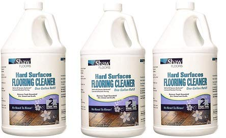 Shaw Floors R2X Hard Surfaces Flooring Cleaner Ready to Use No Need to Rinse Refill 1 Gallon (3-(Pack))