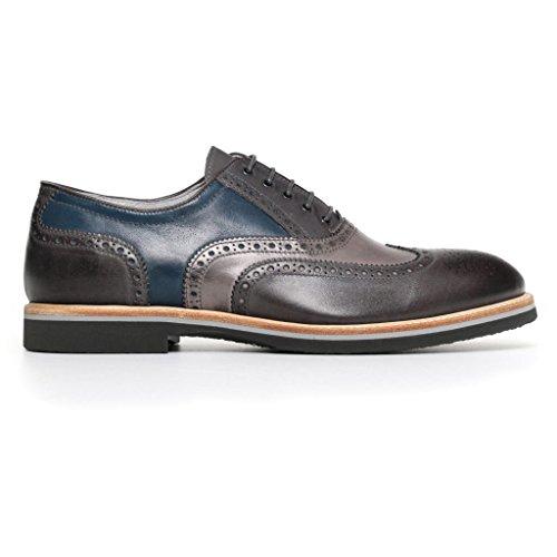 Herren Niedrige Grau Nero Sneaker Anthrazit Giardini 41 EU Größe q5wS5xO4
