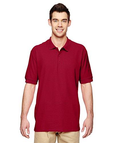 Product of Brand Gildan Adult Premium Cotton 65 oz Double Piqué Polo Shirt - Cardinal RED - 5XL - (Instant Savings of 5% & More)