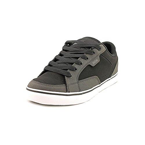 DVS Carson Mens Size 11 Black Nubuck Leather Skate Shoes