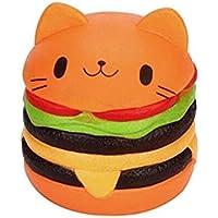 SquishMeez Squishy Haburger Jumbo Turuncu Sukuşi