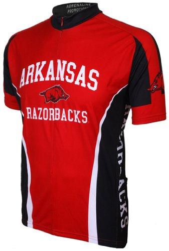 Arkansas Cycling Jersey - NCAA Arkansas Cycling Jersey,Large