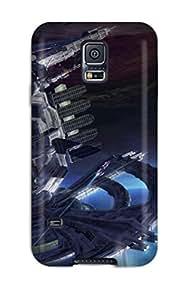 Galaxy Cover Case - Transverse Protective Case Compatibel With Galaxy S5