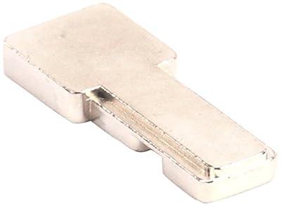 "Traulsen 358-13189-00 Lock Bolt Hudson Dl, 0.62"" Width, 1.5"" Length"