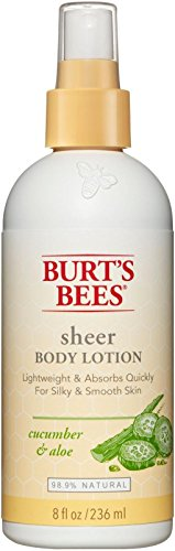 Burt's Bees Sheer Body Lotion - Cucumber and Aloe - 8 ()