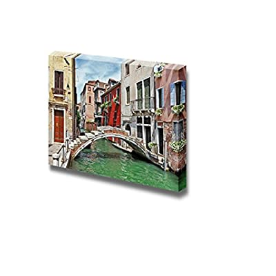 Canvas Prints Wall Art - Beautiful Romantic Venetian Scenery | Modern Wall Decor/Home Decoration Stretched Gallery Canvas Wrap Giclee Print & Ready to Hang - 12