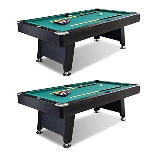 Pool Tablecloth Triangles (MRT SUPPLY 90-Inch Arcade Billiard Pool Table (2 Pack) with Ebook)