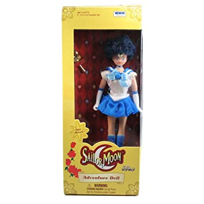 Sailor Moon 6 inch Adventure Doll Sailor Mercury: Toys & Games