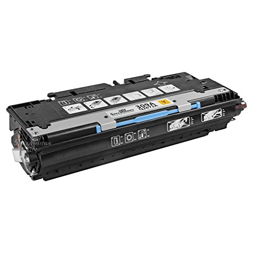 Speedy Inks - Remanufactured Replacement for HP 309A Q2672A Yellow Laser Toner Cartridge for use in HP Color LaserJet 3550, HP Color LaserJet 3550n, HP Color LaserJet 3500, HP Color LaserJet (Q2672a Yellow Remanufactured Toner)