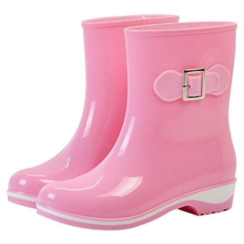 de 5 36 Pink Popoye Femme 1 Rose Chaussures Wellington Travail fESxawqAU