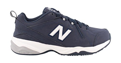 New Balance Men's MX608v4 Training Shoe, Navy/Grey, 12.5 D US