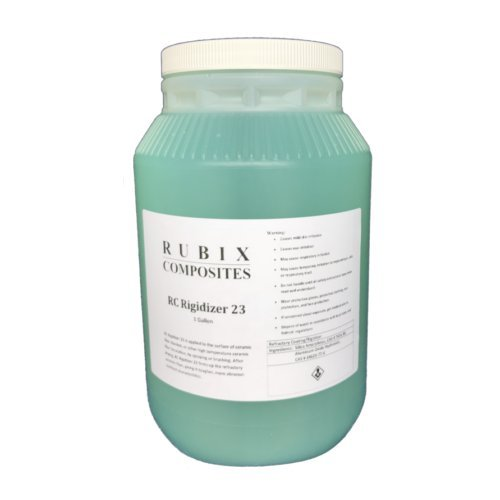1 Gallon RC Rigidizer 23 - Surface Treatment for Ceramic Fiber - Accessories Rci
