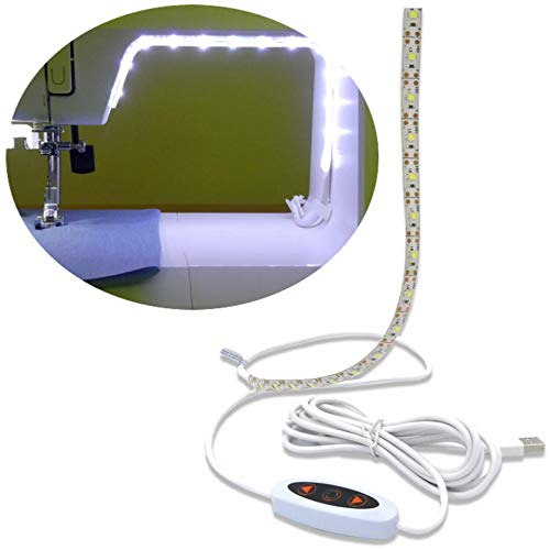 Review Madam Sew Sew Bright Sewing Machine LED Lighting Strip - Illuminate Your Work Area for Sewing...