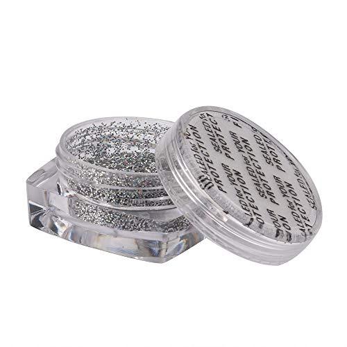 (Glitter Gold Silver Nail Art Glitter Powder Dust Acrylic UV Gel Tips Set DIY)
